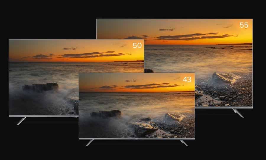 Xiaomi Mi TV 5X Design and Screen