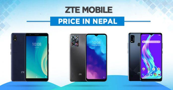 ZTE Mobile Price in Nepal
