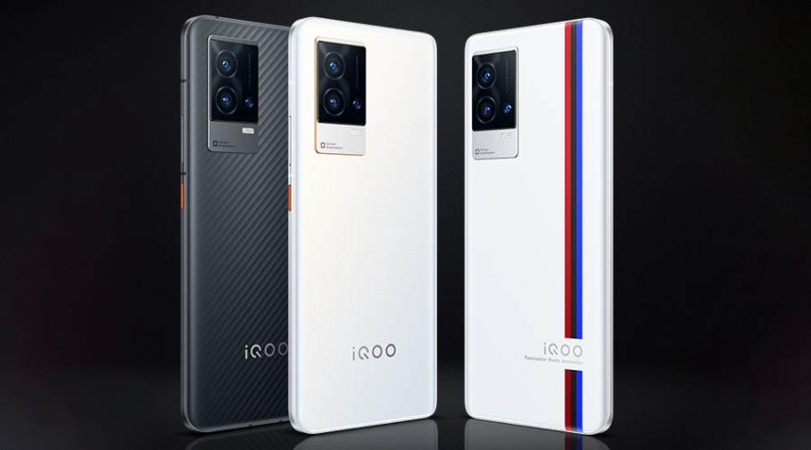 iQOO 8 Design and Display