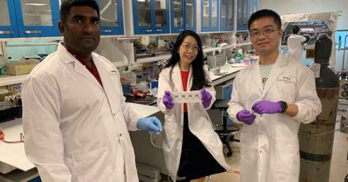 sweat-powered battery for smart wearable body temperature sensors