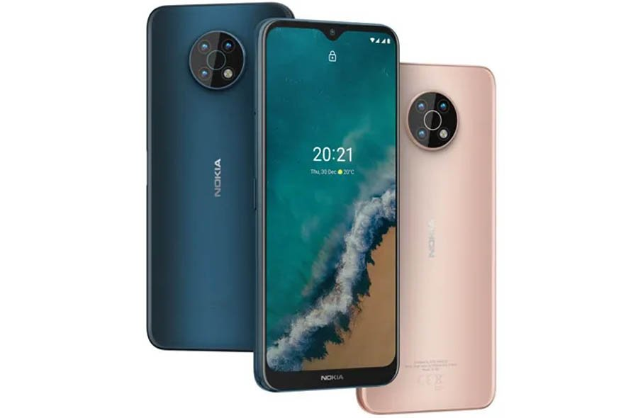 Nokia G50 Nordic Design display color options