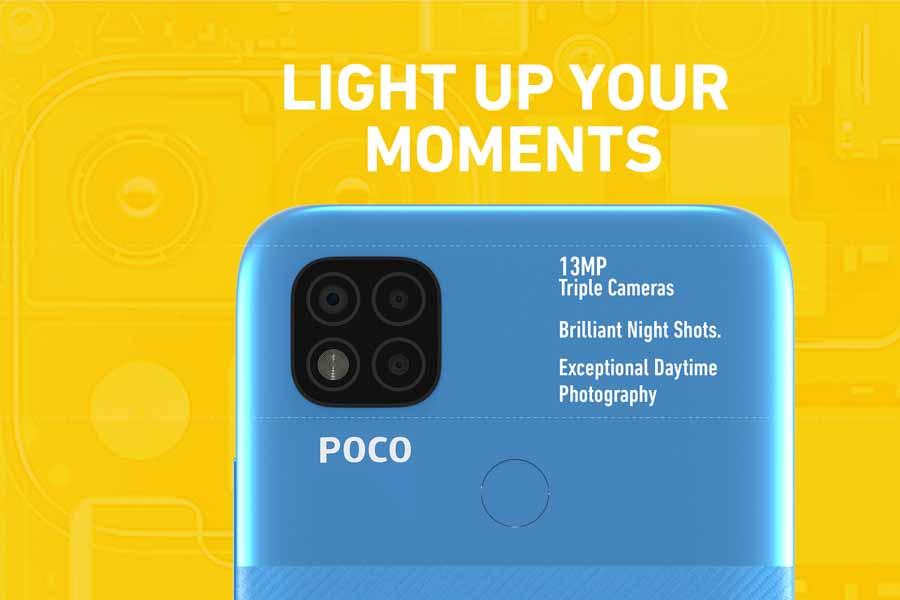 Poco C31 Cameras