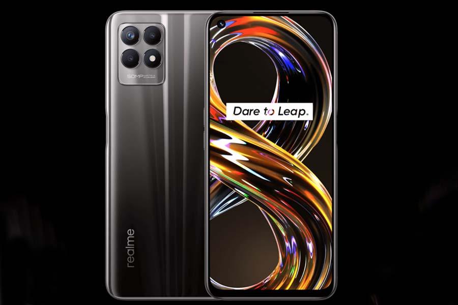 Realme 8i Design and Display