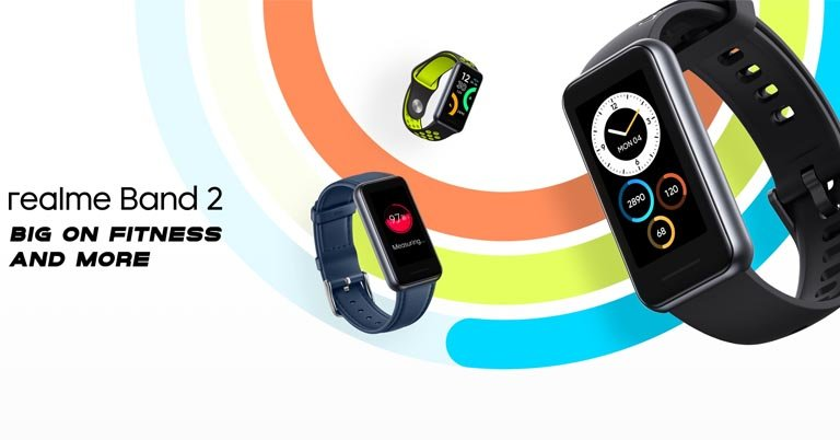 Realme Band 2 with a 1.4-inch display, SpO2 tracking goes official » Meroshare