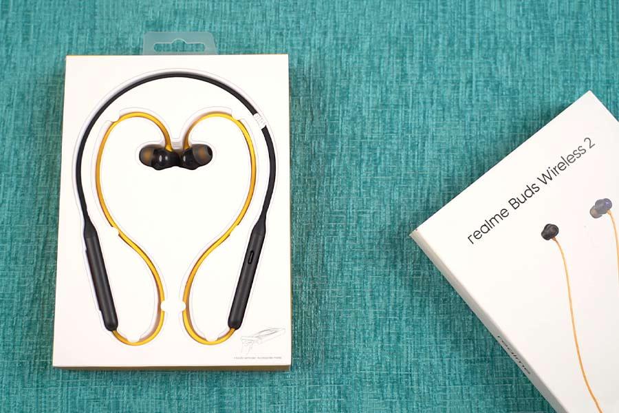 Realme Buds Wireless 2 - Design Best Budget Bluetooth Neckbands in Nepal