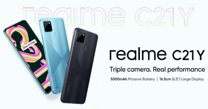 Realme C21Y Price in Nepal Where to buy specifications availability