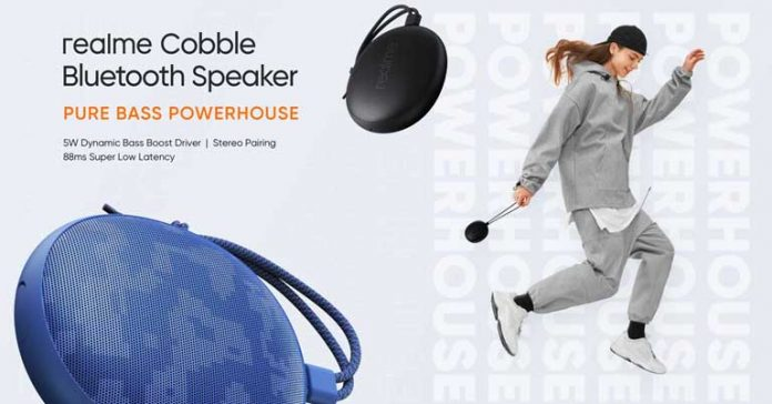 Realme Cobble Bluetooth Speaker Price Nepal Availability Specs Features Availability Launch
