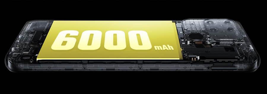 Realme Narzo 50A Battery