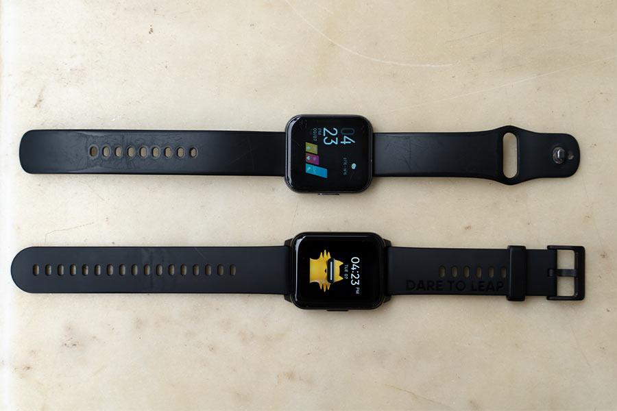 Realme Watch 2 vs Realme Watch Strap Comparison