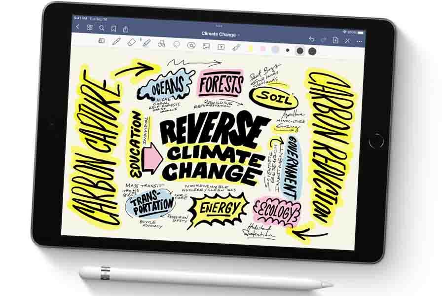 iPad 10.2 2021 with Apple Pencil