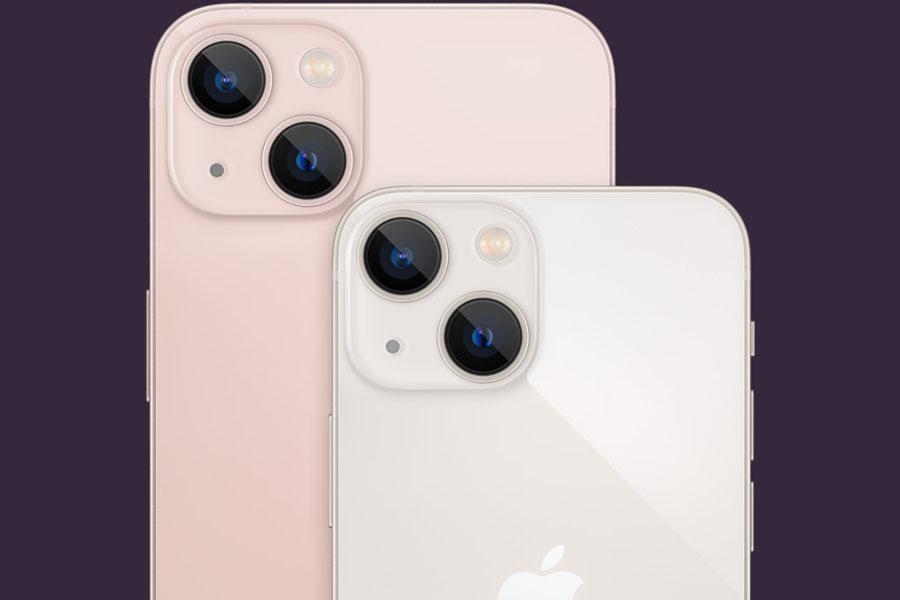 iPhone 13 mini camera setup