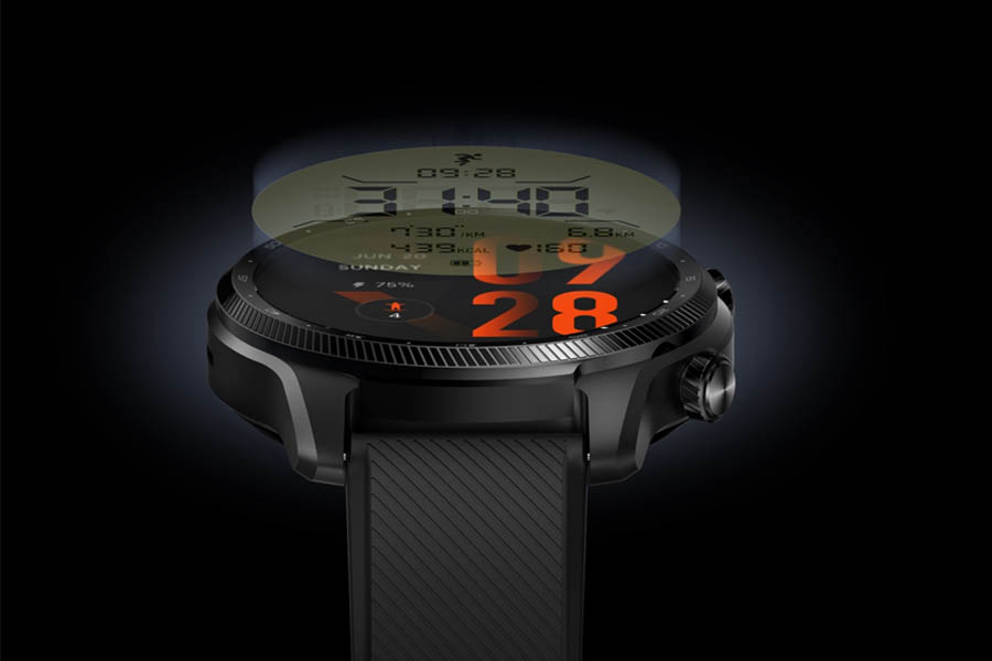 Mobvoi TicWatch Pro 3 Ultra GPS Design and Display
