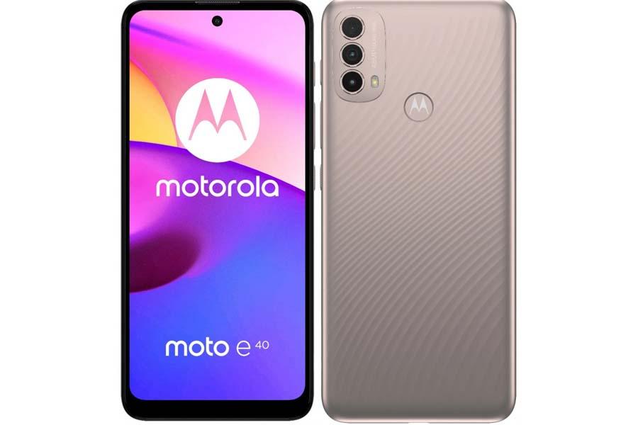 Motorola Moto E40 Design and Display